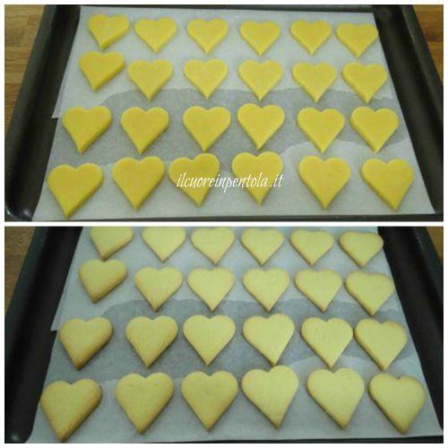 cottura in forno biscotti senza glutine