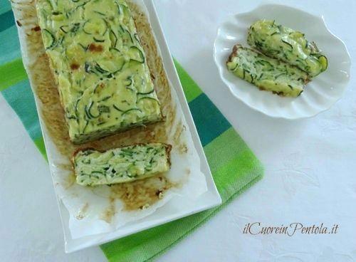 flan di zucchine ricetta