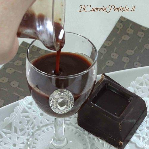 liquore al cioccolato ricetta