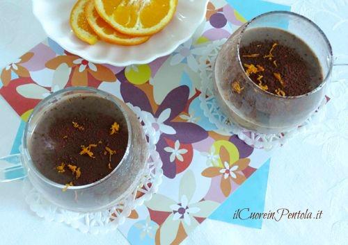 panna cotta cioccolato e arancia ricetta