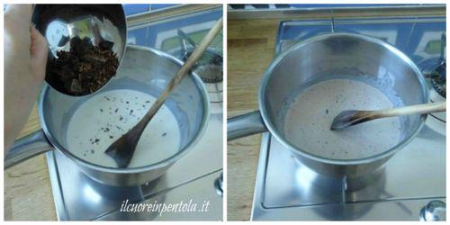 aggiungere cioccolato