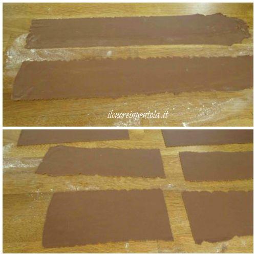sfoglie di pasta fresca al cacao