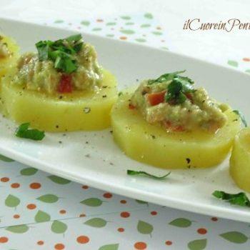 patate e guacamole
