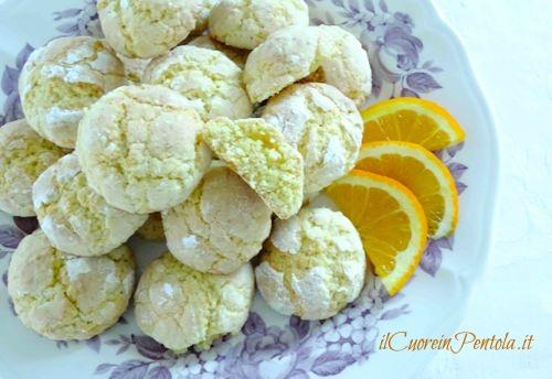 biscotti all arancia ricetta