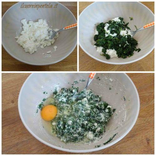 insaporire spinaci