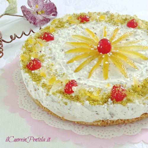 cassata cheesecake ricetta