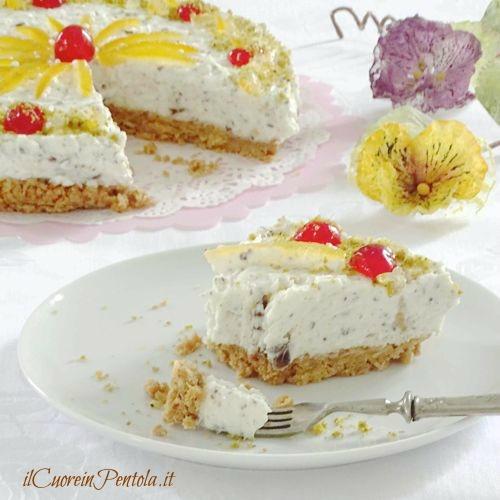cheesecake cassata ricetta
