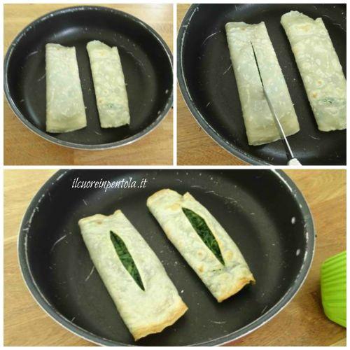 crepes di farro con spinaci ricetta4
