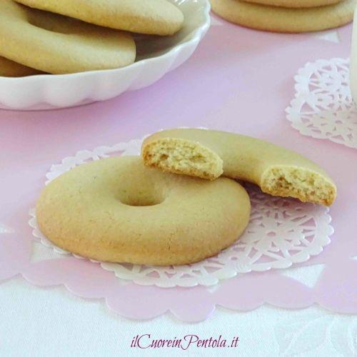 macine biscotti con la panna
