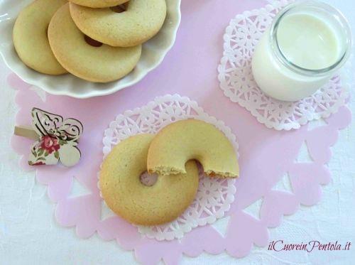 macine ricetta biscotti con panna