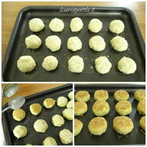 cuocere in forno polpette di cavolfiore