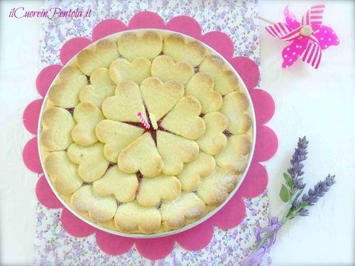 crostata senza glutine con marmellata