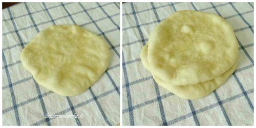 cuocere pane pita
