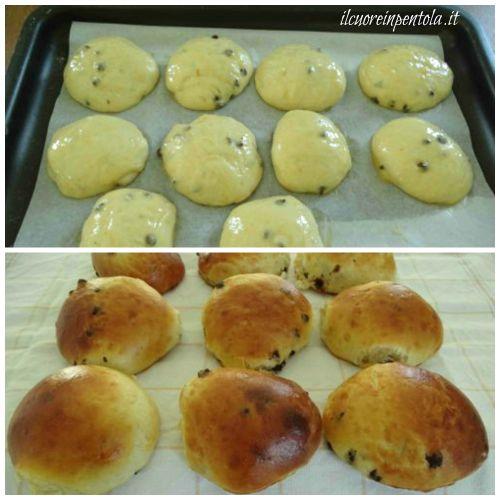 cuocere pangoccioli in forno