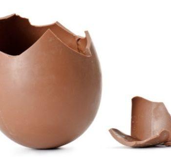 riciclare il cioccolato delle uova di pasqua