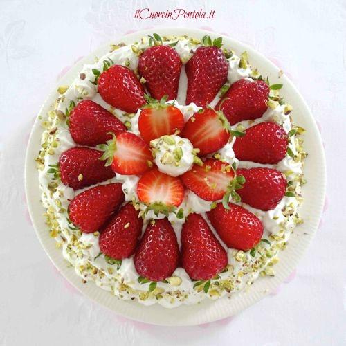 torta alle fragole ricetta