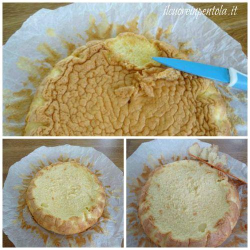 pulire pan di spagna