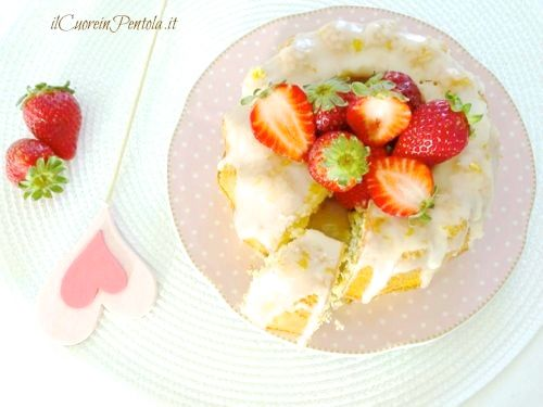 ciambella al limone ricetta