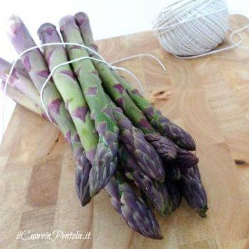 come pulire gli asparagi grossi
