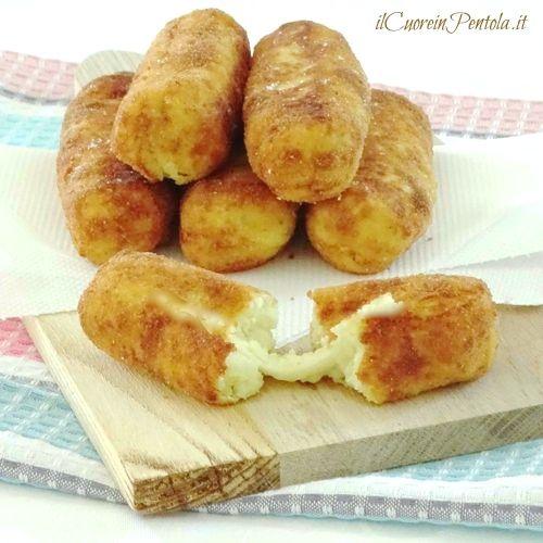 crocchette di patate filanti ricetta