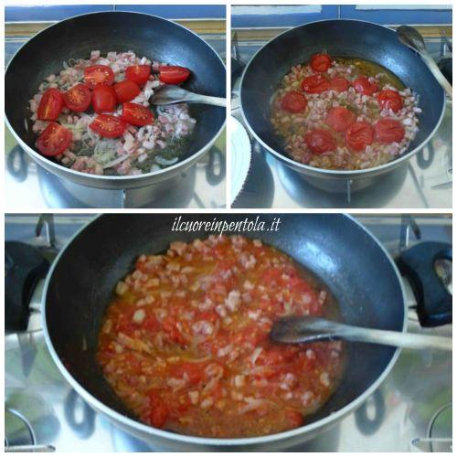 aggiungere pomodoro