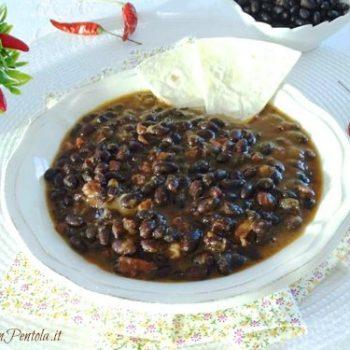 fagioli neri messicani ricetta