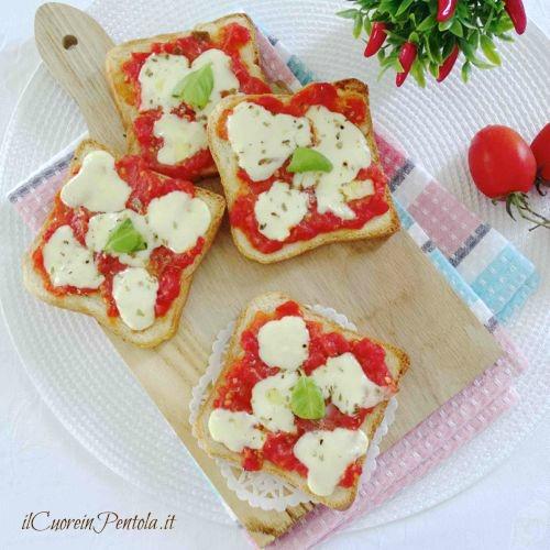 pizzette di pancarre ricetta