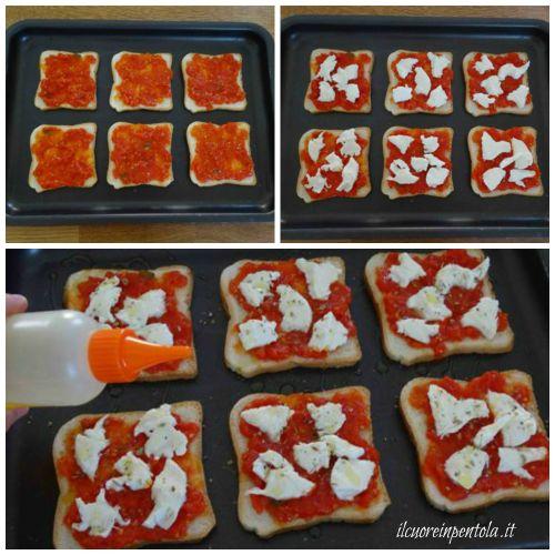 aggiungere mozzarella