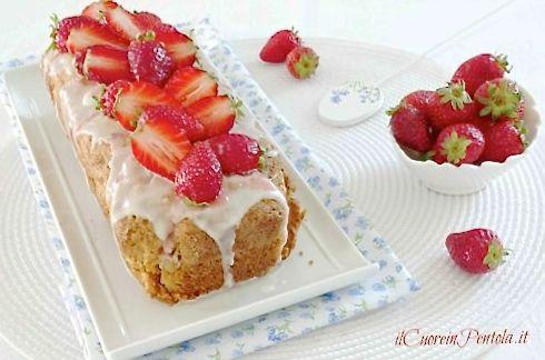 plumcake alle fragole ricetta