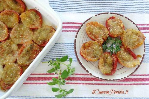 pomodori gratinati ricetta