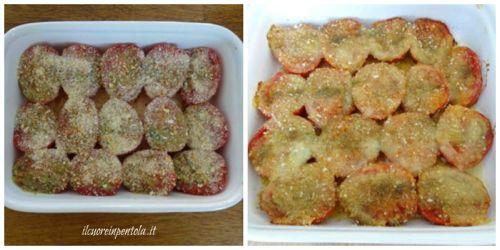 mettere pomodori in forno