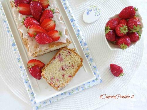 preparare plumcake alle fragole
