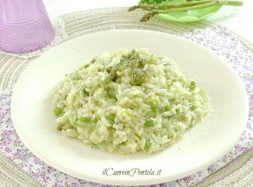 risotto agli asparagi ricetta