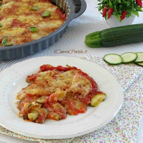 zucchine alla pizzaiola ricetta