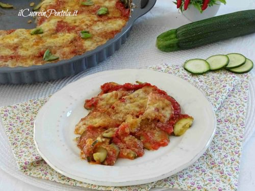 zucchine pizzaiola