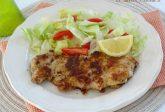 Cosce di pollo disossate impanate