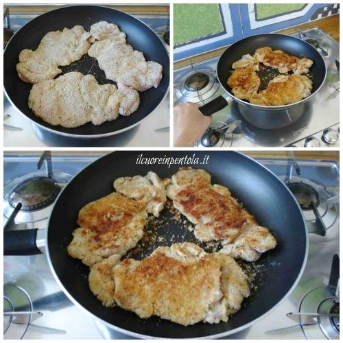 cuocere cosce di pollo in padella