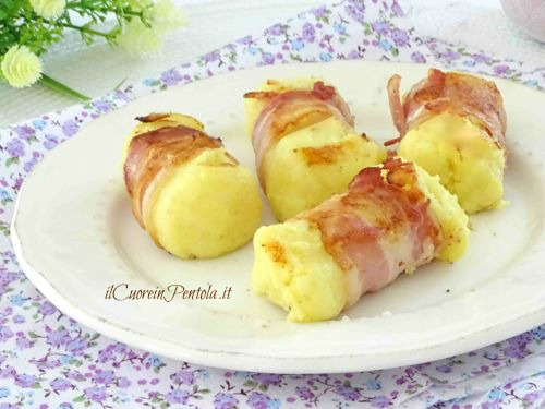 involtini di patate e pancetta ricetta