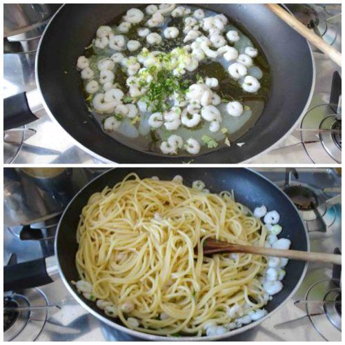cuocere spaghetti