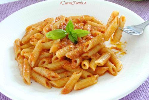 pasta con pomodoro frullato2