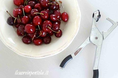 lavare ciliegie