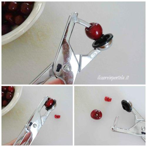 snocciolare ciliegie
