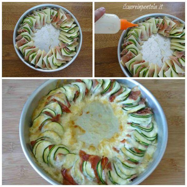 infornare zucchine