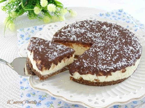 Cheesecake Cocco E Nutella Ricetta Con Foto Il Cuore In Pentola