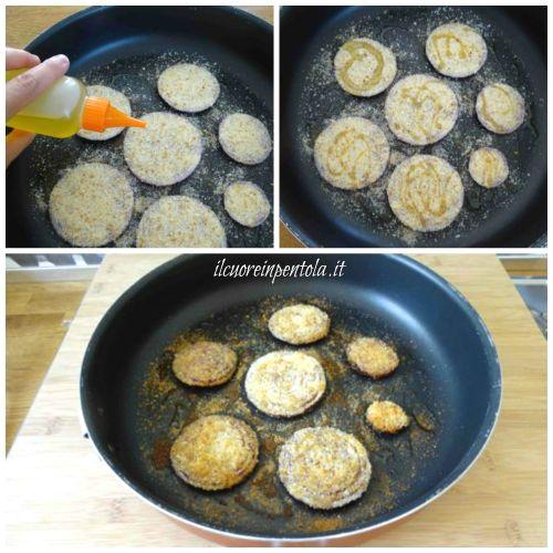 ricoprire cipolle con pangrattato