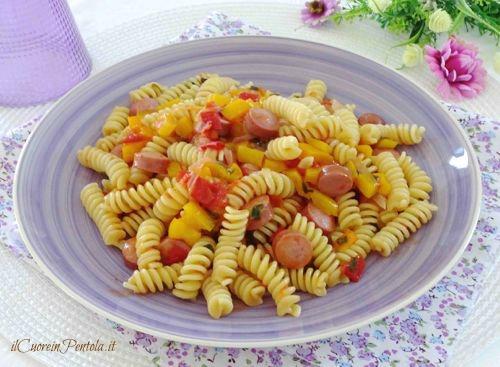 Ricette pasta con i wurstel