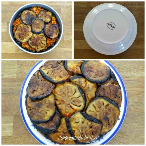 cuocere timballo di melanzane in forno