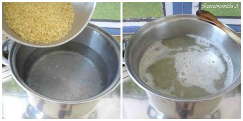 bollire riso per insalata