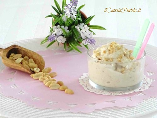 gelato alle arachidi