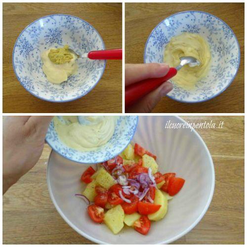 preparare salsa con maionese e senape